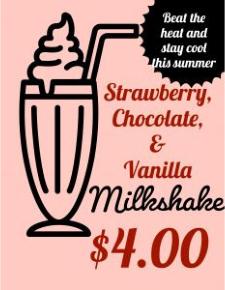 Milkshake Notice